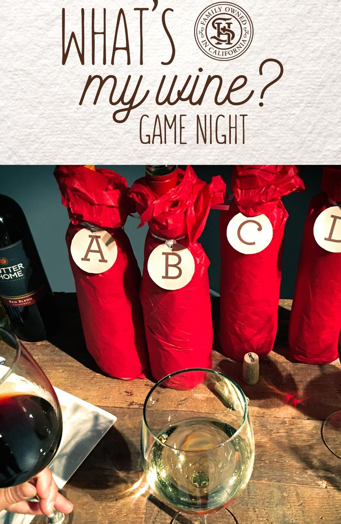 Uncork The Wines Pour Out The Fun And Play Our New Sutter Home Whats My Wine Game Its Blind Wine Tasting A In 2020 Wine Games Blind Wine Tasting Wine And
