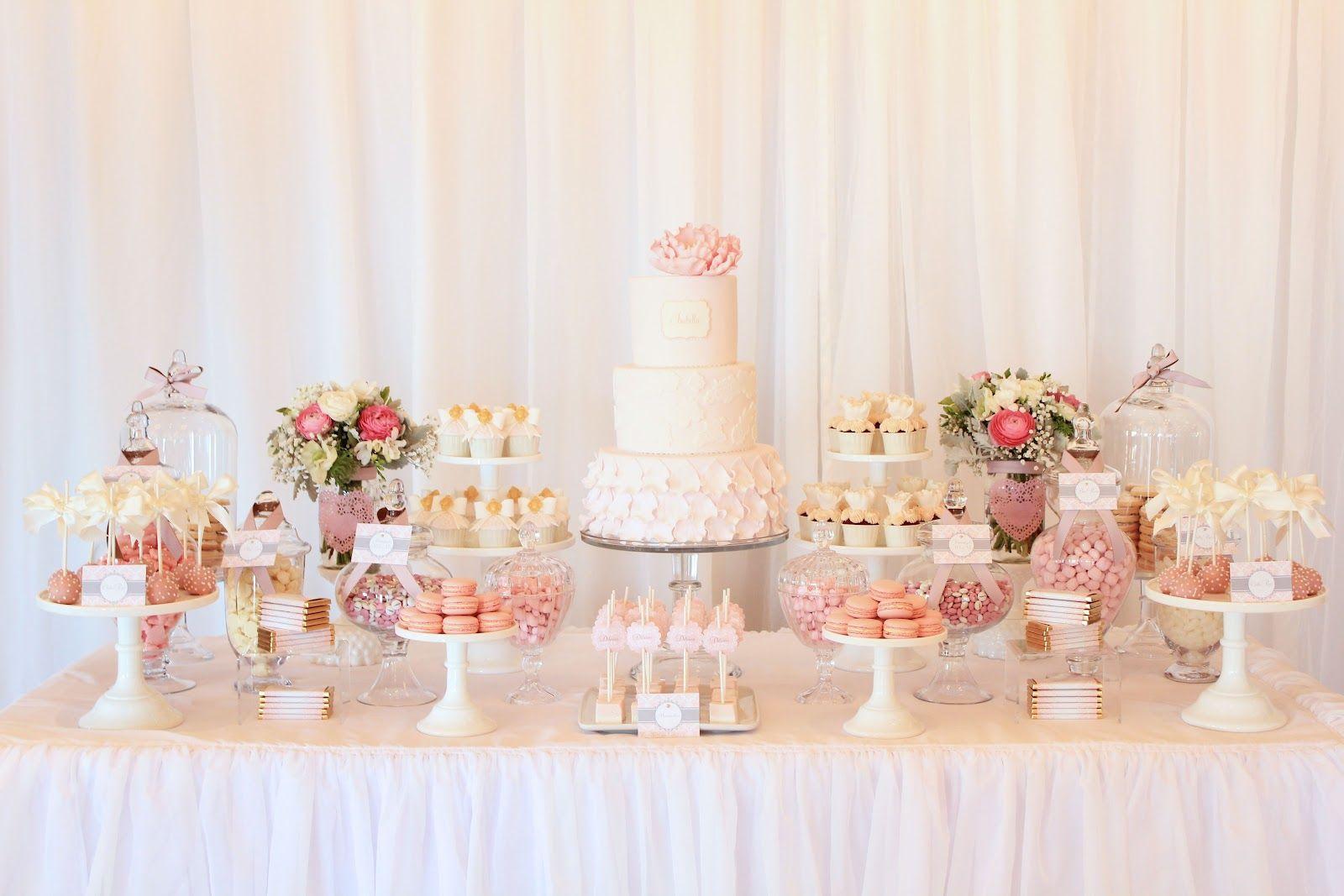 Isabellaus christening wedding ideas pinterest buffet set