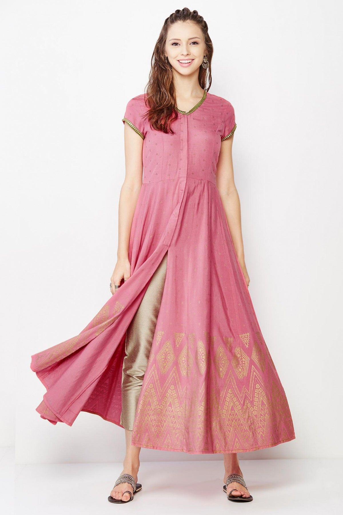 35f30bed9a Gia Pink Coordinates - Buy Gia Pink Coordinates - AW16V392132P406- Suit for  Women - Global Desi by Anita Dongre