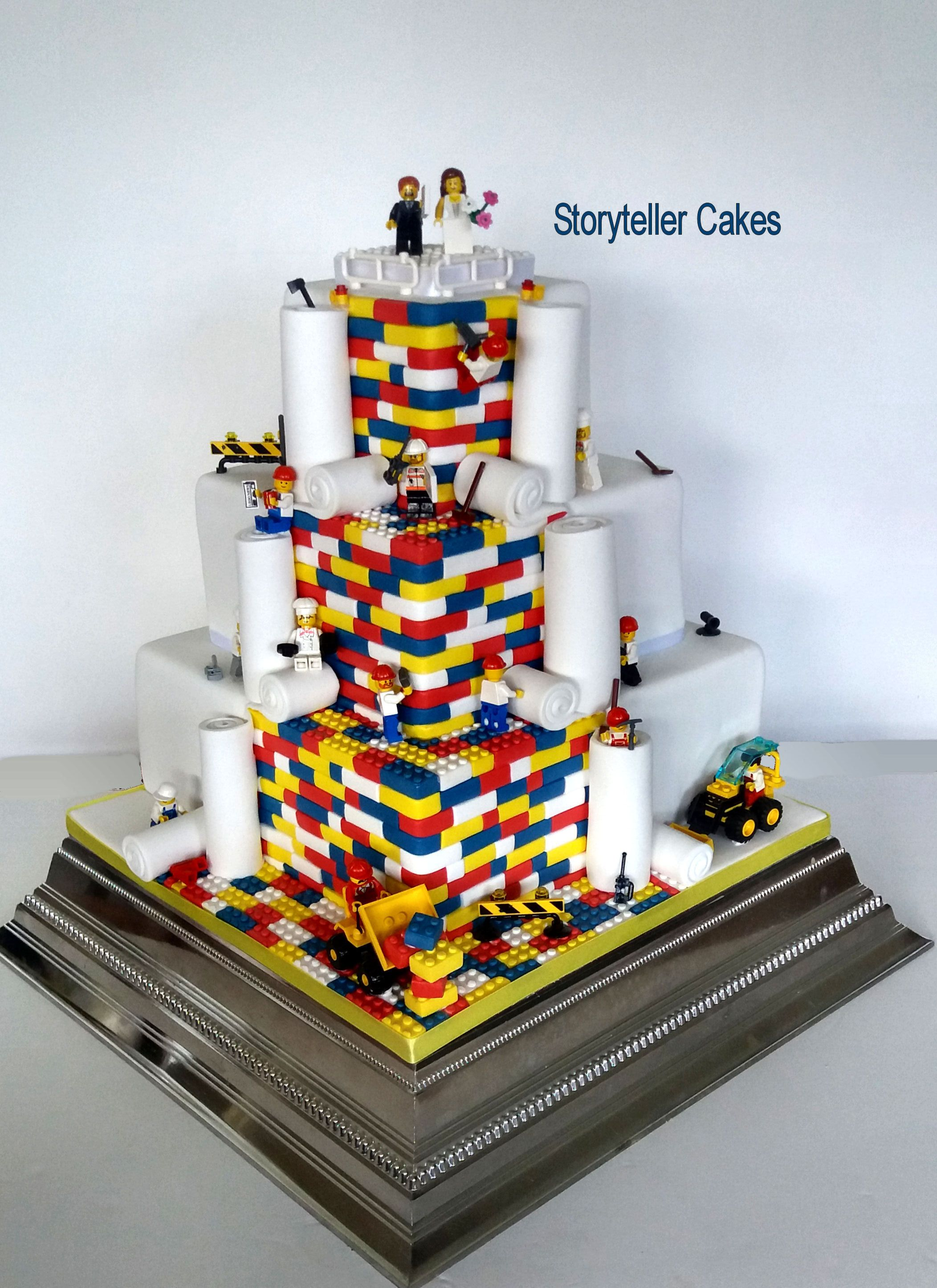 lego wedding cake Lego wedding cakes, Wedding cakes