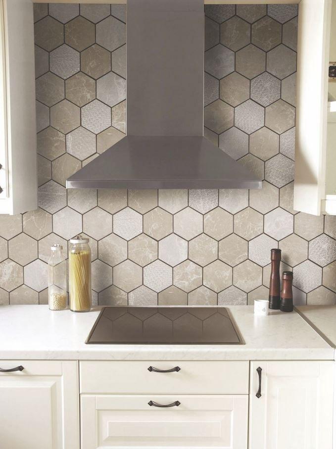 Backsplash Hexagon Tile Backsplash Kitchen Hexagon Tile Backsplash Hexagon Tile Kitchen