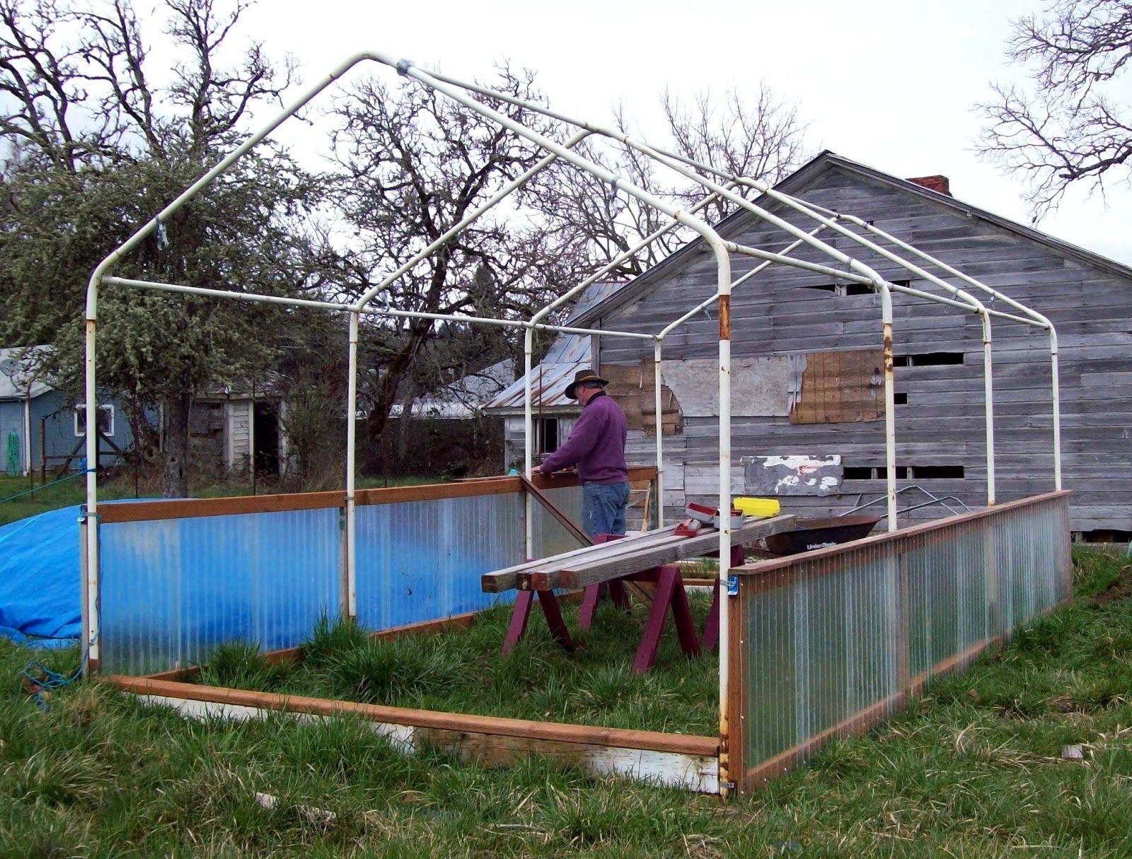 quotsharing gardensquot carportframe greenhouse design