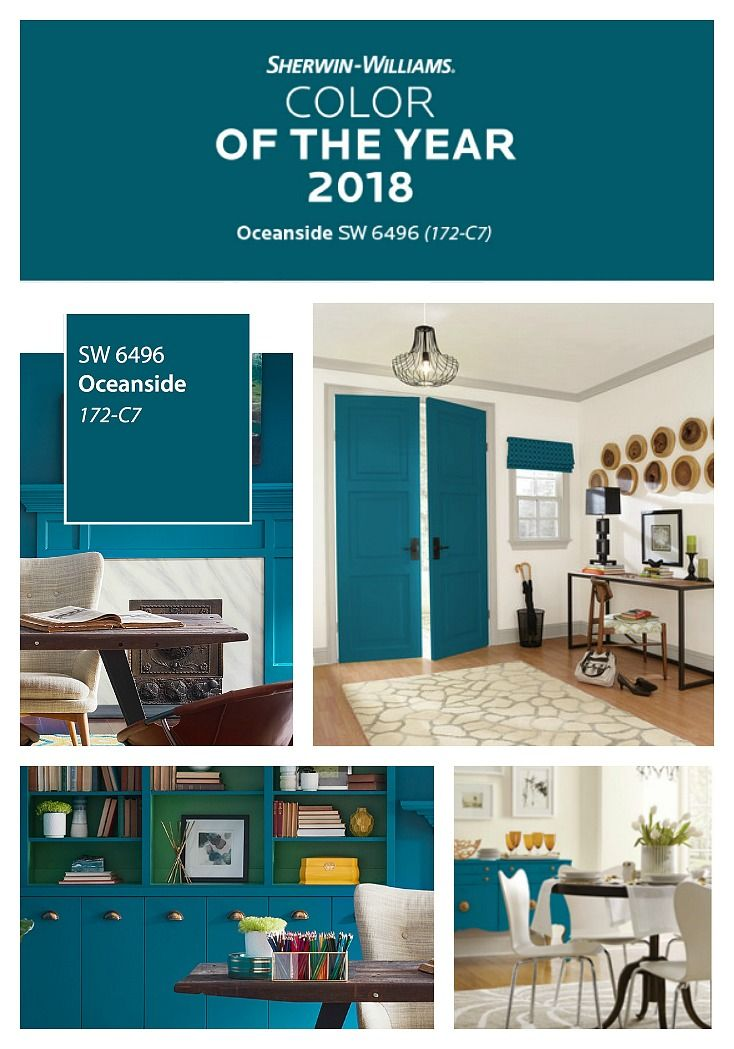 2018 Sherwin Williams Color Of The Year Is Oceanside Sherwinwilliams