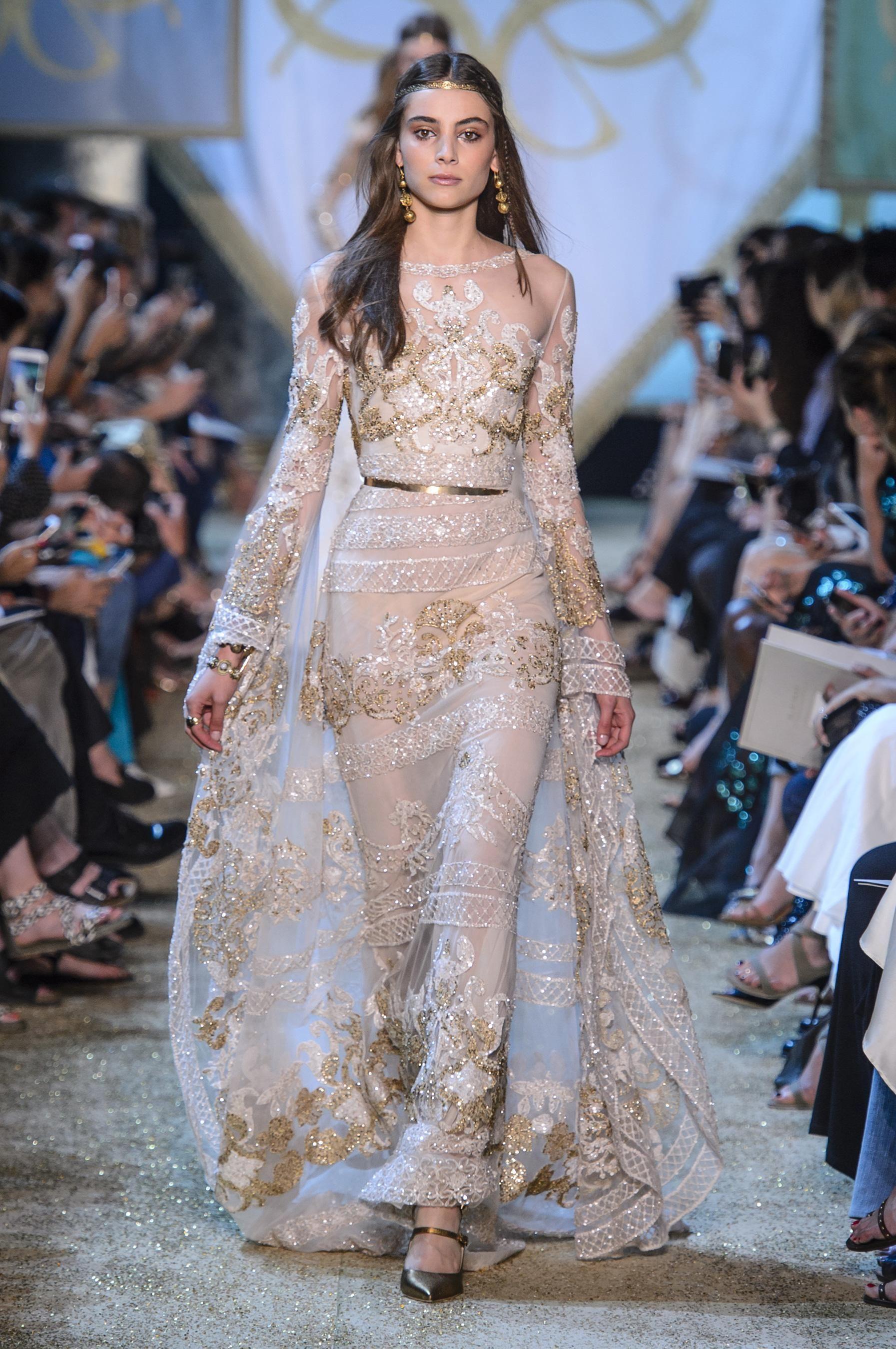 Défilé elie saab automnehiver haute couture gowns robe