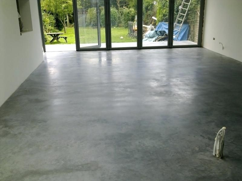 Finished Concrete Floors Cost Architecture Stained Polished