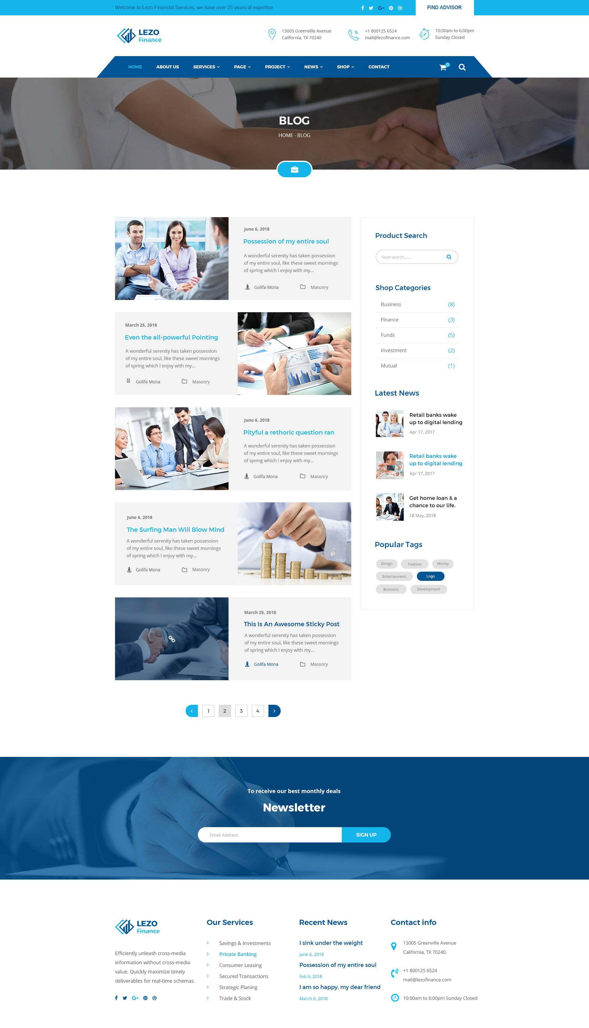 Lezo Business Finance Consulting Psd Template Amp Business Lezo Finance Business Finance Finance Psd Templates
