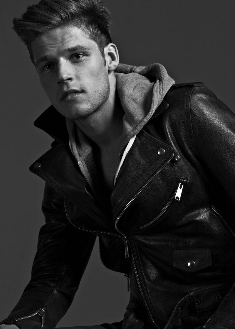 Portrait Mikus Lasmanis Thomas Beaudoin By Eric Ray Davidson Leather Jacket Leather Jacket Men Leather Jeans