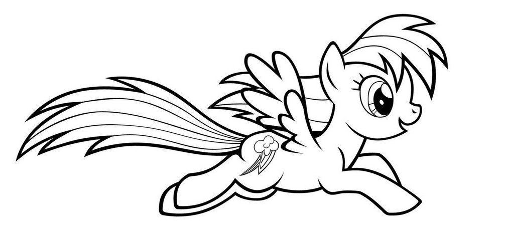 Coloring Page Rainbow Dash Hd My Little Pony Coloring Baby Coloring Pages Coloring Pages