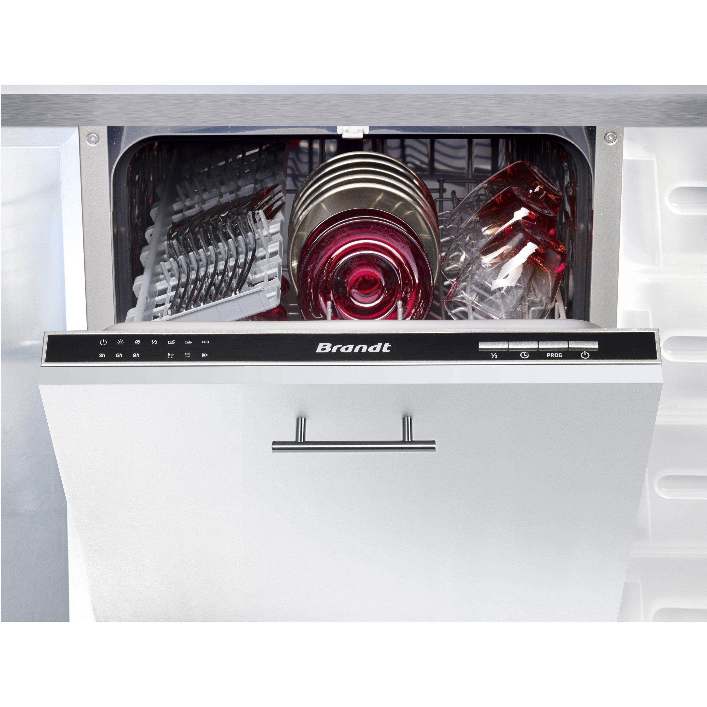 Lave Vaisselle Integrable L 44 8 Cm Brandt Vs1010j 10 Couverts Lave Vaisselle Integrable Lave Vaisselle Encastrable Lave Vaisselle Brandt