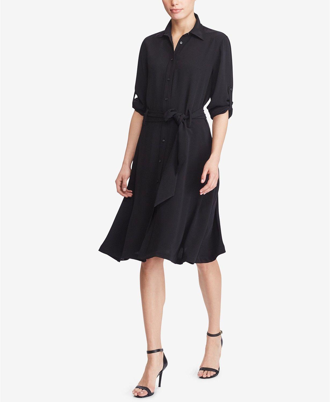 Lauren ralph lauren fit flare shirtdress dresses