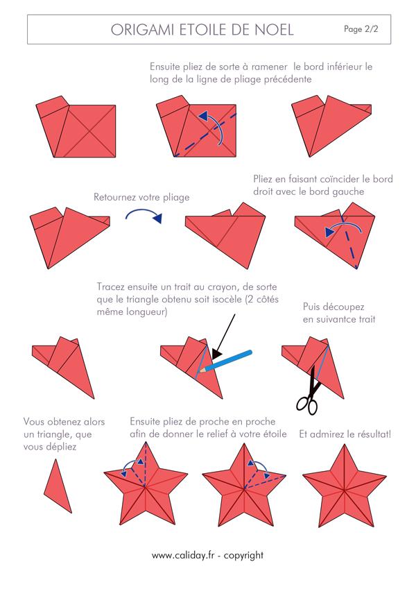 amazing origami facile de noel 14 etoile noel origami. Black Bedroom Furniture Sets. Home Design Ideas