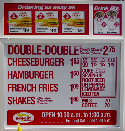 Well Traveled Wife Thursday Thoughts Diet Root Beer Business Growth Strategies In N Out Burger