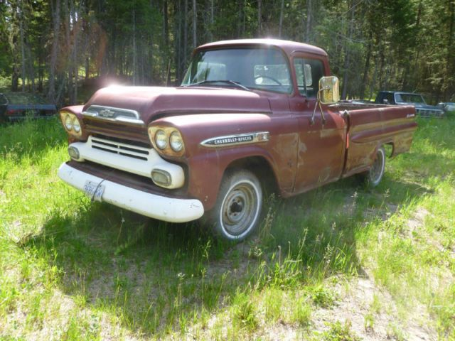 1959 Chevrolet Apache 150 Mile House 5k Chevrolet Apache Vintage Trucks Chevrolet
