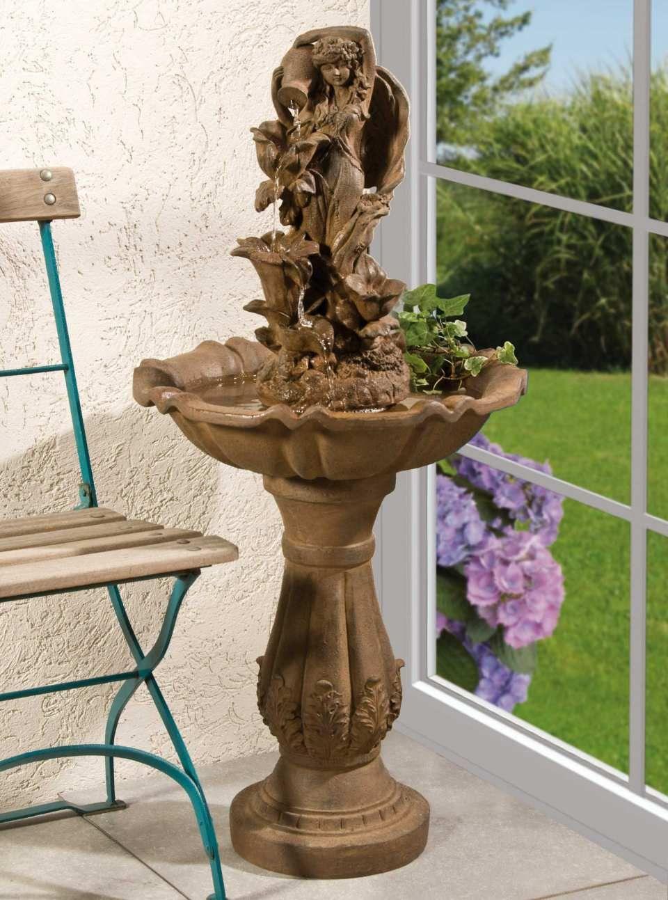 elfen-brunnen aus fiberglas - diese dekorative luftbefeuchtung ist, Wohnzimmer