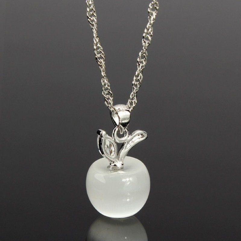 Tiny crystal apple pendant necklace once upon a time jewelry apple tiny crystal apple pendant necklace once upon a time jewelry apple queen mozeypictures Image collections