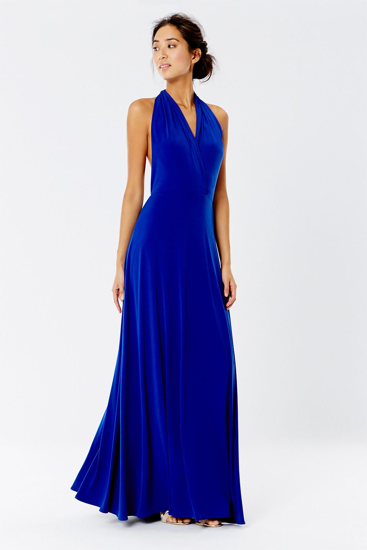 CORWIN MULTI TIE MAXI | bridesmaid dresses | Pinterest