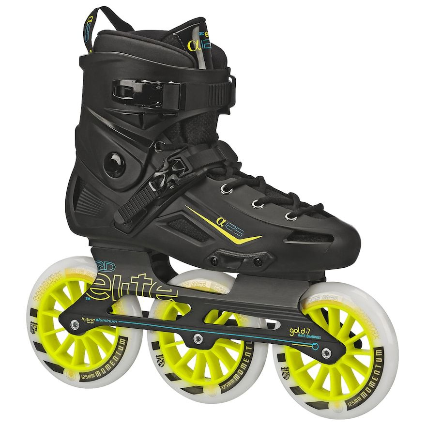 Roller Derby Elite Alpha 3-wheel Inline Skates
