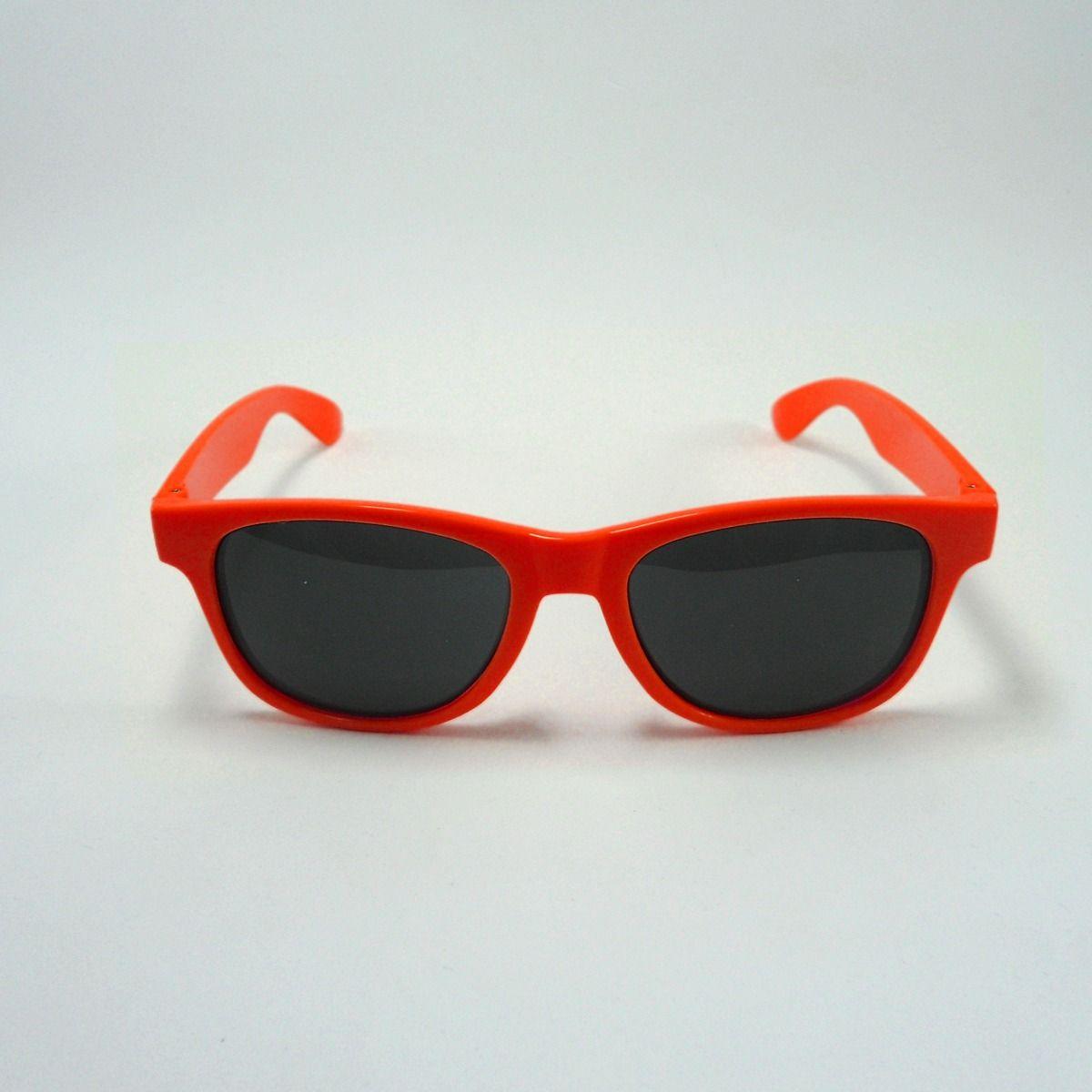 464c3df95 oculos ray lente fume adulto laranja fluorescente | Outros ...