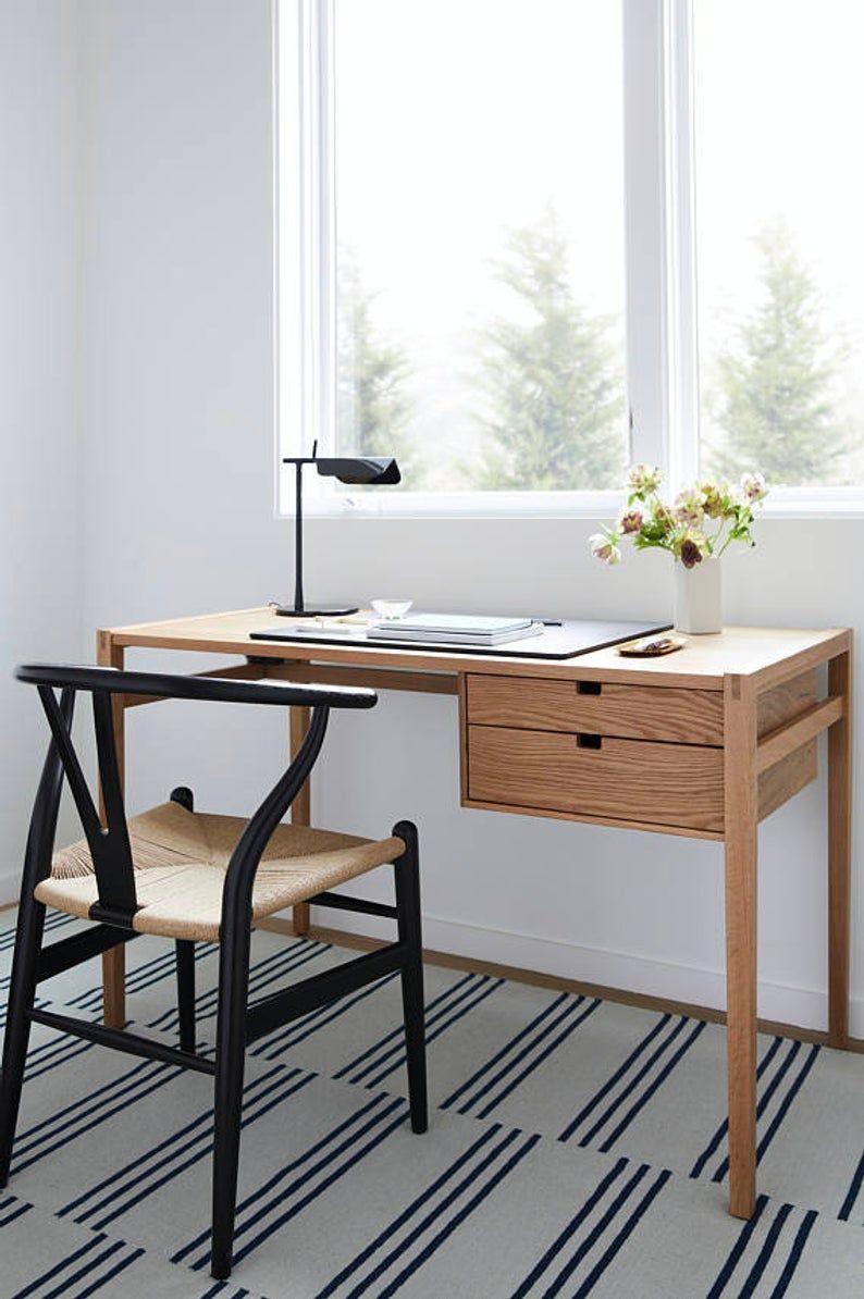 Marotta Desk Writing Desk Desk Solid Wood Desk