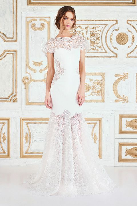 Tadashi Shoji Bridal can be found at the Nordstrom Wedding Suite ...