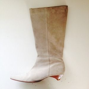 Fosco Shoes - Stunning suede leather mid calf boots size 39-9