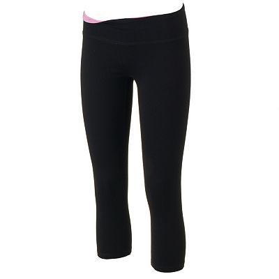 SO® Crop Yoga Capri Leggings - Junior's Plus Size