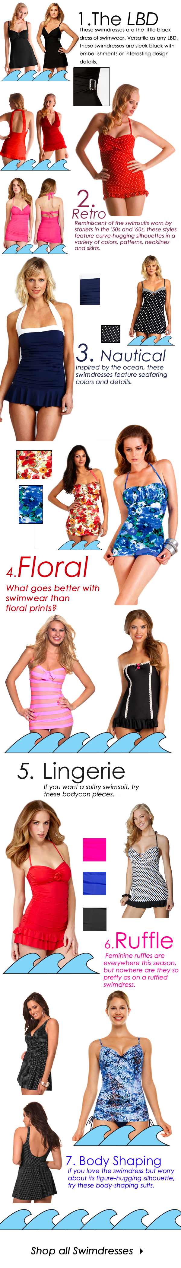 Awesome swim dresses!