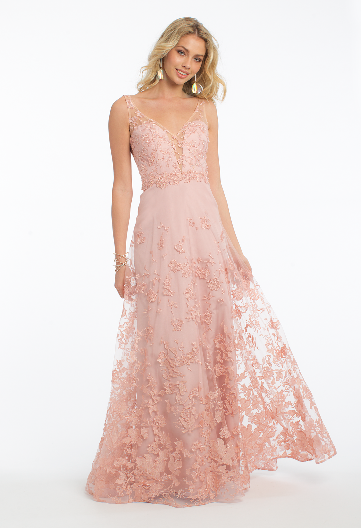 Look and feel your most beautiful in this lovely evening gown! The ...