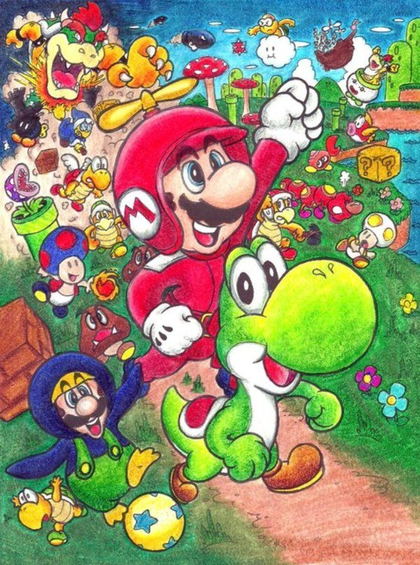 New Super Mario Bros Wii by KrazeeWera deviantart com on