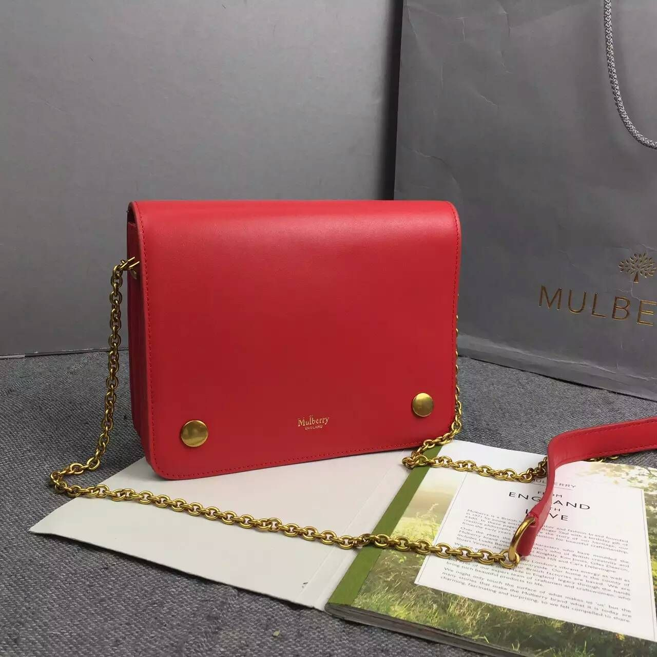 3f342af6c84c 2016 SS Mulberry Small Clifton in red Small Classic Grain