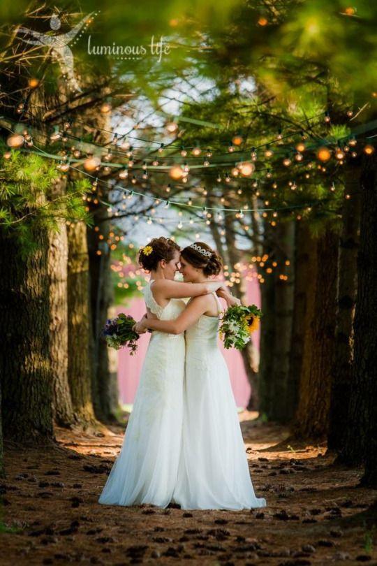 Leah And Emily Lesbian Wedding