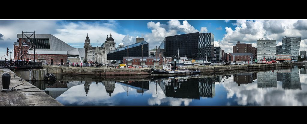 Liverpool Waterfront Panorama