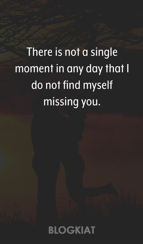 60 Cute I Miss You Quotes Sayings Messages For HimHer Quotes Custom Missing You Quotes For Her