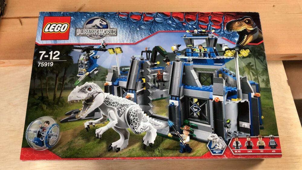 LEGO Jurassic World 75919 Indominus Rex Breakout Set New