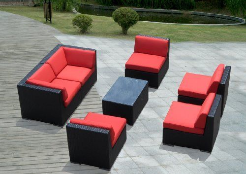 Genuine Ohana Outdoor Patio Sofa Sectional Wicker Furniture 7pc Couch Set with Free Patio Cover by Ohana Collection. $1499.00. 7pc Set includes 2 Corner sofas + 4 Middle Sofas + 1 Coffee Table. The Sofa set is 28 inches tall to provide full support for your back.. Curbside delivery with signature required. All cushions are inserted (tucked in) underneath each chair.. Factory Direct Price (MSRP $2,899.00). Free Patio Cover ($189 value ). New Fade  Resistent Cushion Covers ...