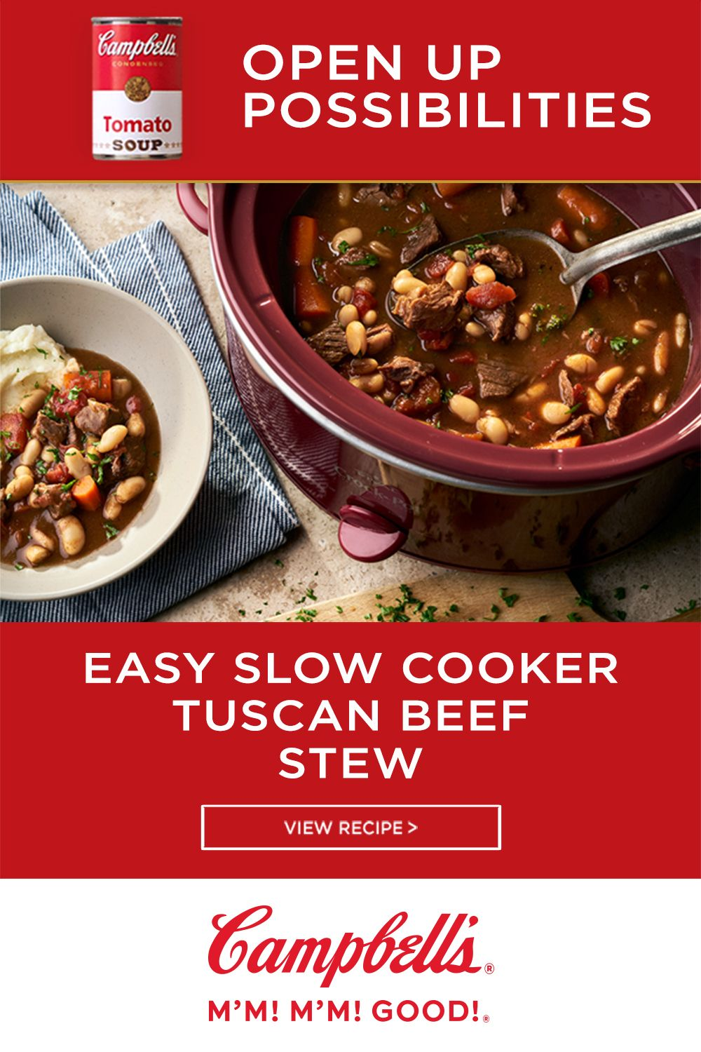 Easy Slow Cooker Tuscan Beef Stew Recipes Tuscan Beef Stew Crock Pot Cooking