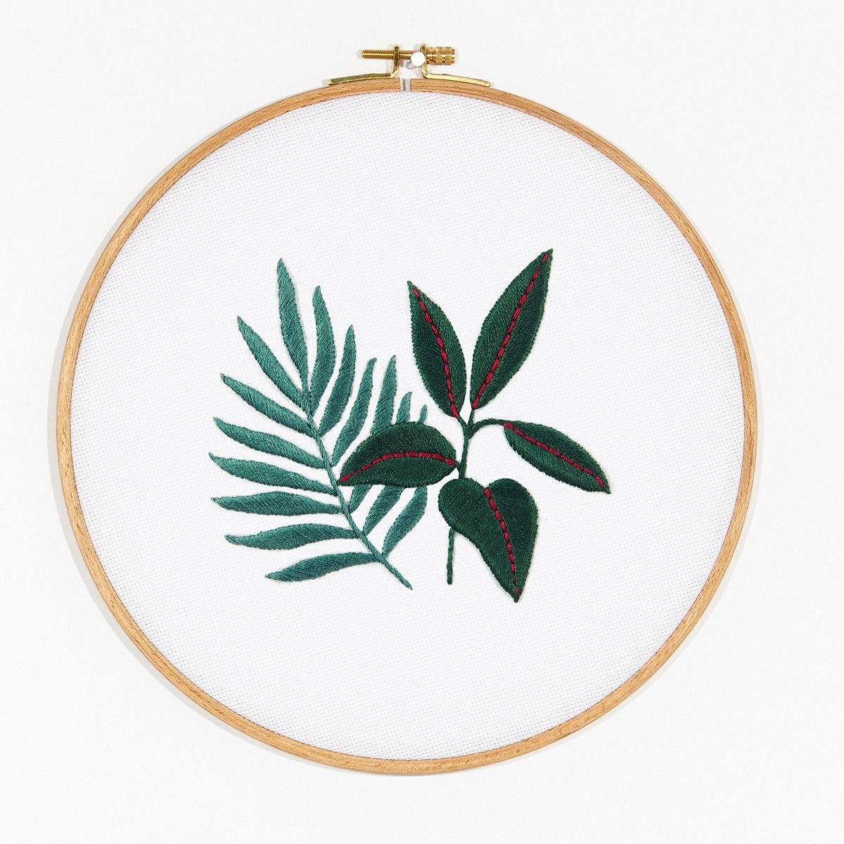 Rubber plant fern embroidery pattern one day ill sew this rubber plant fern embroidery pattern bankloansurffo Choice Image