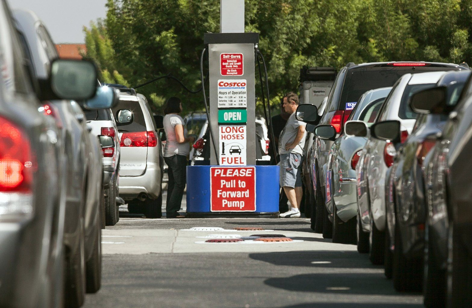 Calif Gas Prices Hit All Time High Gas Prices Colchester Gas Station