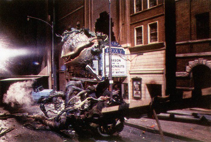 Pin By Kelsey Cee On Behind The Scenes Little Shop Of Horrors Real Movies Scenes