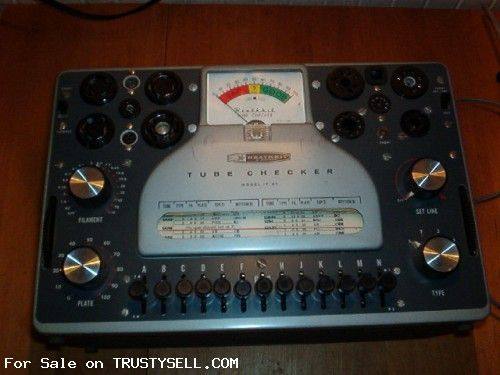 Heathkit IT-21 Tube Checker tester - $50 00 USD - (#160810