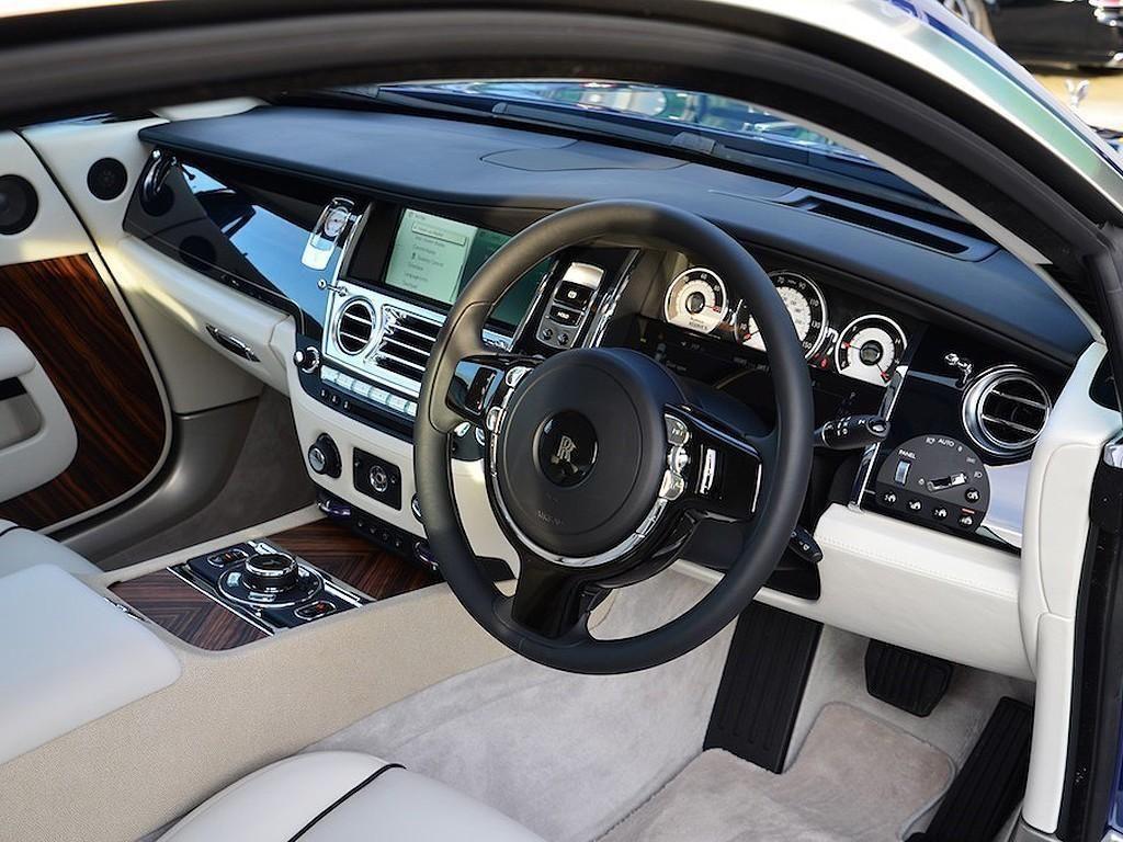 2014 rolls royce wraith 14 63 vat qualifying petrol blue tiptronic ebay