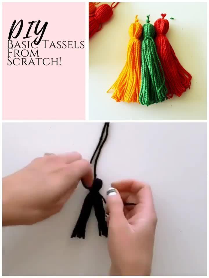 Photo of DIY How To Make Tassels – Creative Fashion Blog