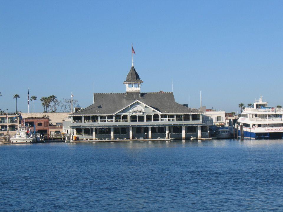 Balboa Pavilion Harborside Restaurant And Ballroom Newport Beach Ca Peninsula