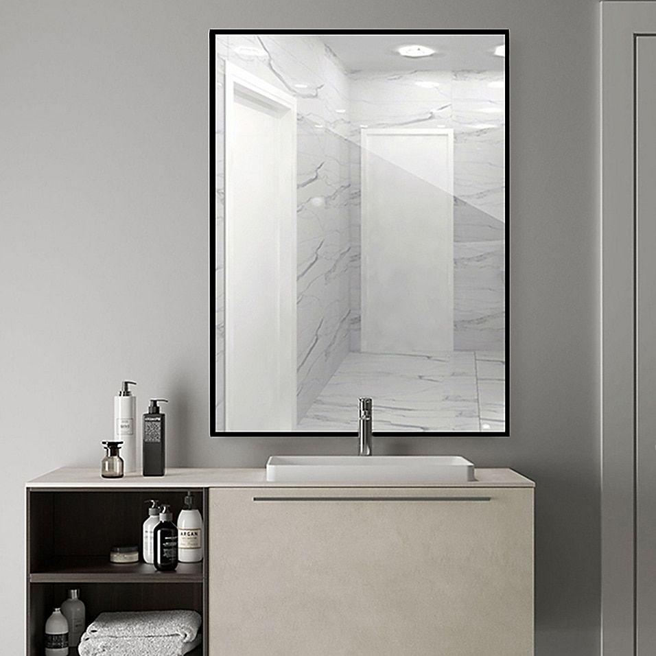 Rectangular Bathroom Vanity Mirror Bed Bath Beyond In 2021 Bathroom Mirror Bathroom Vanity Mirror Washroom Decor