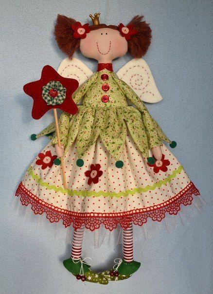 Hada de tela con moldes Related Post Moldes para hacer muñecas de ...