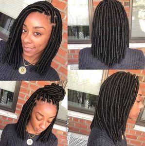 45 Short Faux Locs Styles Hair Pinterest Hair Styles Hair And