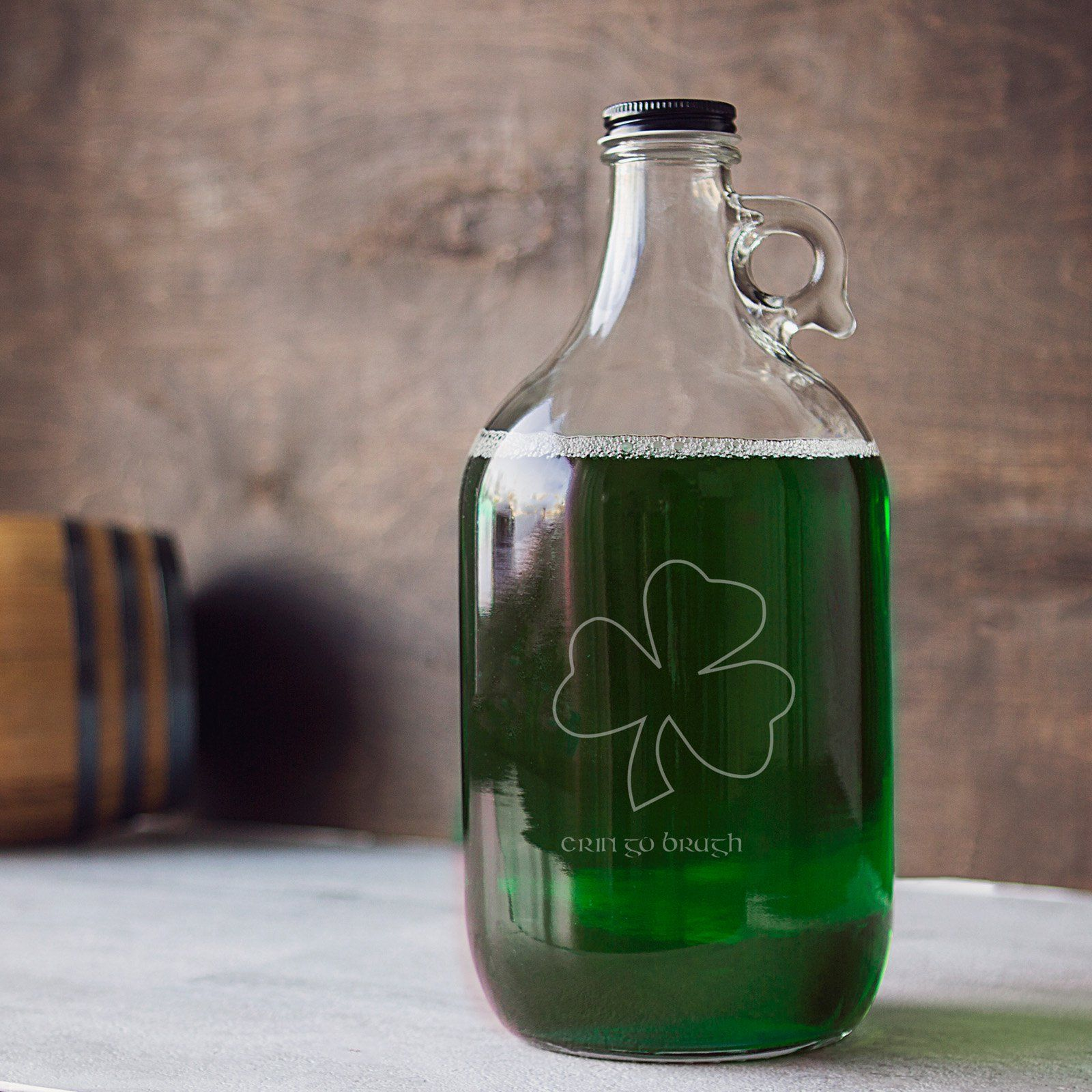 Cathy's Concepts St. Patrick's Day Craft Beer Growler -   19 crafts beer growler