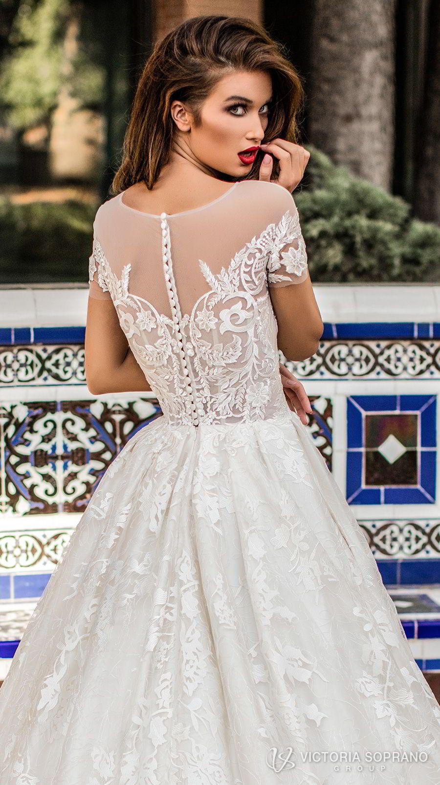 Victoria Soprano 2018 Wedding Dresses The One Bridal Collection Wedding Inspirasi Wedding Dresses Short Wedding Dress Wedding Dress Inspiration [ 1604 x 900 Pixel ]