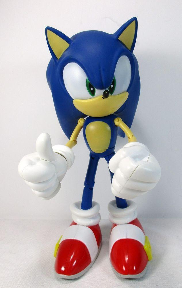 Sega Jazwares Sonic The Hedgehog 10 Poseable Toy Figure Collectable Sonic The Hedgehog Sonic Sonic Birthday Parties