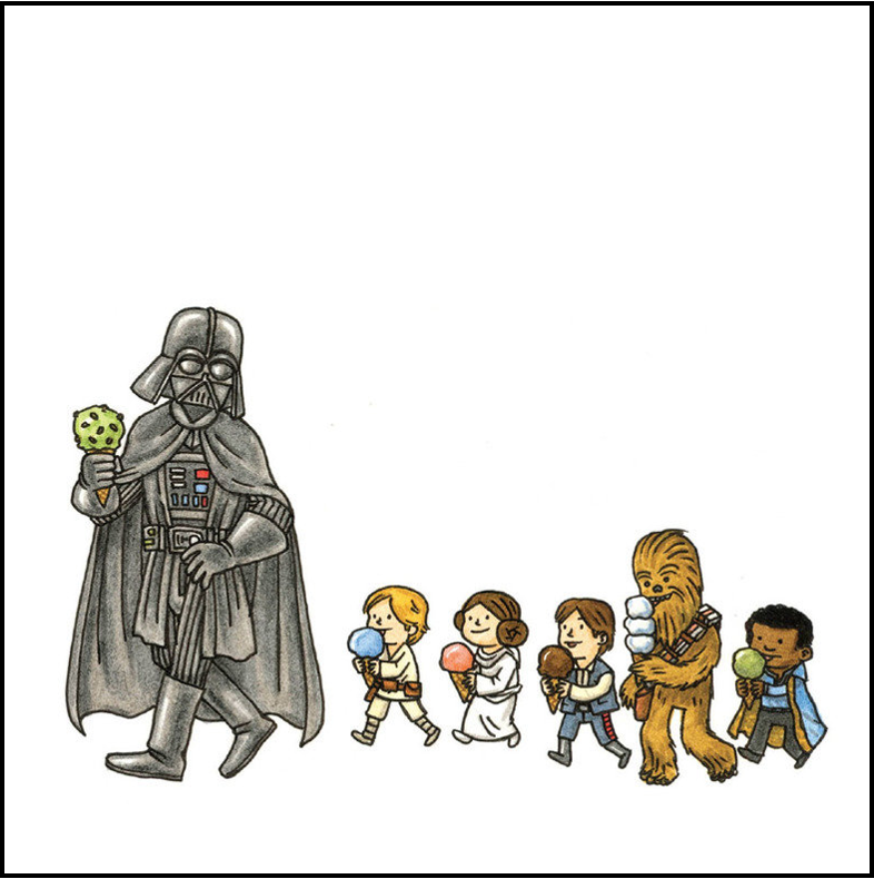 Death Vader R2D2 Luke Skywalker. Lego Star Wars T-Shirt Leia Han Solo